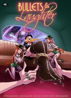 BULLETS and LAUGHTER 2 Cover Art by MTJpub