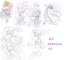 RP sketches! by FantasyDreamer16