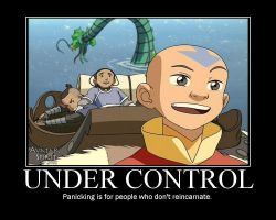 Aang Motavational Poster 2 by ping600