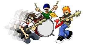 Rock Band 2. by Bleezer