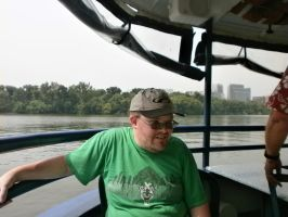 Me on the Potomac River by MightyMorphinPower4