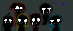 Shadows of who they once were (5 missing children) by Lovely-Girl-10