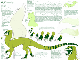 Rai's New Ref Sheet by RAIDEO-MARS