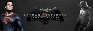Batman v Superman: Dawn of Justice Banner by PaulRom