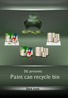 paint can recycle bin by SG3000