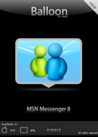 Balloon - MSN Messenger 8 by xazac87