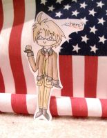 American Paper Child by DarkTangrowth