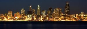 Downtown Seattle by maxlake2