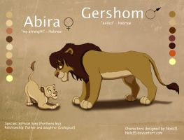 Abira and Gershom - Adoption Auction CLOSED by Nala15