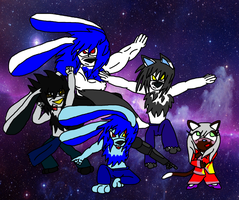 Furry Tokusentai! by LotG