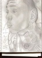 Sketch of Soulja Boy by KingJude