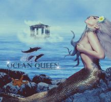 ocean queen by gagauniverse
