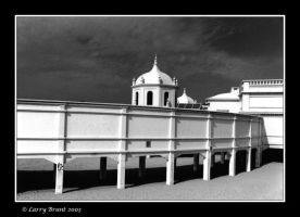 Building on the Beach - Cadiz by inessentialstuff