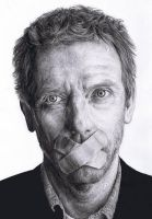 Hugh Laurie 2 by DonieQ