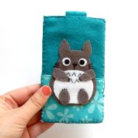 Totoro iphone case by yael360