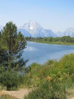 In The Tetons National Park by xdancingintherain