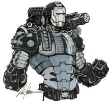 War Machine by ChrisOzFulton