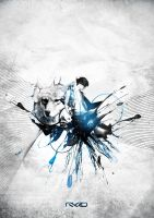 Inks Aggression by Mykro-media