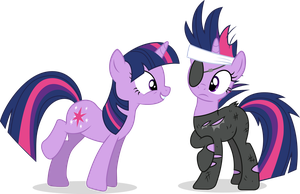 Twin Twilights by AuburnBorbon