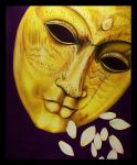 Mask of Buddha by copperrein