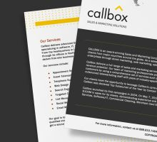 About Callbox Brochures (Close-up) by taki3