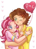 Pinkie And Cheese by ForbiddenDesirers