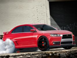 Mitsubishi Lancer Evo RS v3 by PepiDesigns