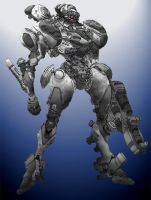 War Machine by Cosmic-D