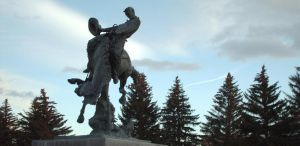 Steamboat Statue by wyorev