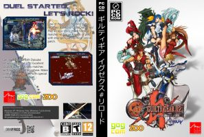 Guilty Gear X2 Reload GOG Cover by bfrheostat