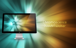 Chromascence Wallpaper by DuskMTWalker