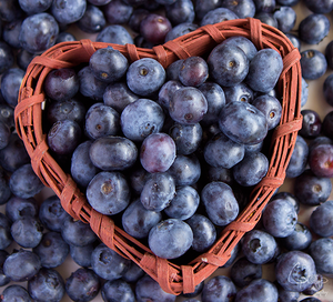 Hearty Blueberries by CpopArt