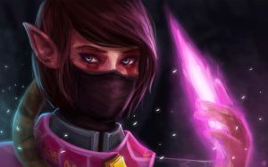Dota 2 Fan Art - Lanaya the Templar Assassin by Jeffufu