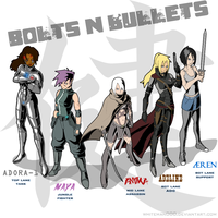 Bolts n Bullets Team by Whiteman000