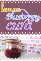 Lemon Blueberry Curd Recipe by ponychops