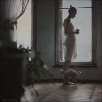 by the window by ankazhuravleva