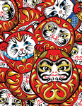 Daruma Daruma by labrattish