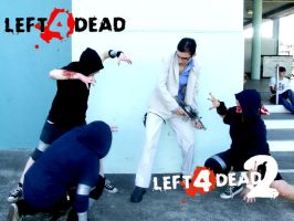 L4D: Gang Bang by ellehcore