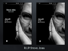 R.I.P Steve Jobs by DjeTouch59