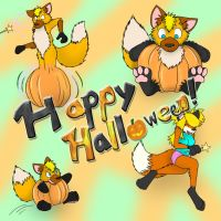 Happy Halloween Everyone by Fox0808