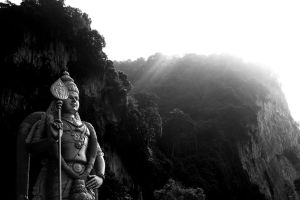 Hindu temple by Crosseout