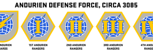 Andurien Defense Force Insignia by Viereth