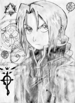 Edward Elric by Souleater0000
