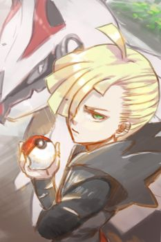 Gladion n silvally by allenerie