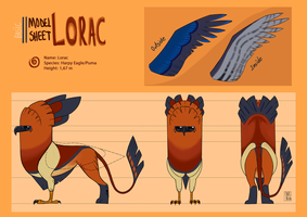 Lorac Simple Model Sheet by CarolineRaquel