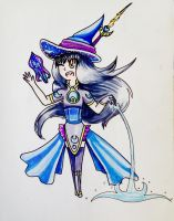 Moon Witch | Contest Entry by Lemon-Lark