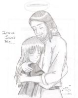 Jesus Loves me by shock777