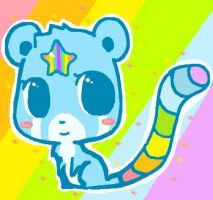 Rainbow Panda by Stacey008