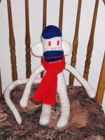 albino sock monkey 2 by chibiwakki