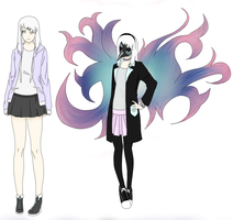 Tokyo Ghoul OC by Mika-MikaNoMi